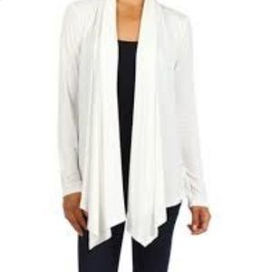 Lucky Brand Open Front Knit Cardigan Sweater